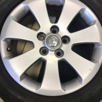 Vauxhall Insignia Alloy wheel with 3mm tread summer tyre
